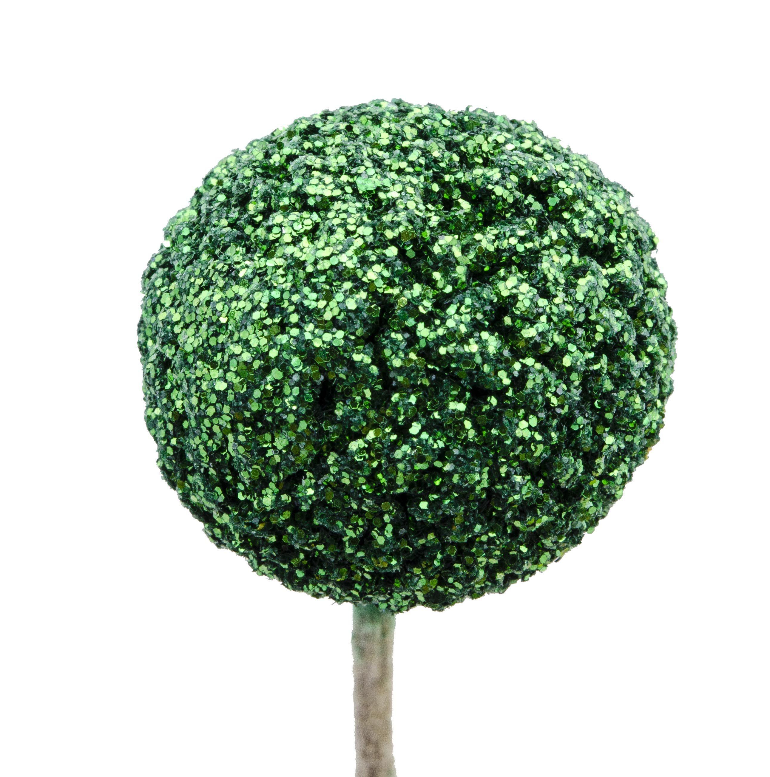Craspedia Glitter Green